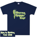 Warren Haynes Band Microphone Logo Tour T-Shirt