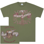 Warren Haynes 2007 Xmas Jam Hammer Light Green T-Shirt