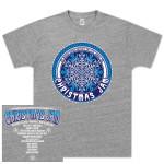 "Warren Haynes 2012 Xmas Jam ""Retro Snowflake"" Logo Shirt"