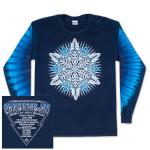 Warren Haynes 2012 Xmas Jam Long-Sleeve Pigment Dye Shirt.