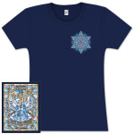 "Warren Haynes 2012 Xmas Jam ""Stained Glass"" Ladies Shirt"