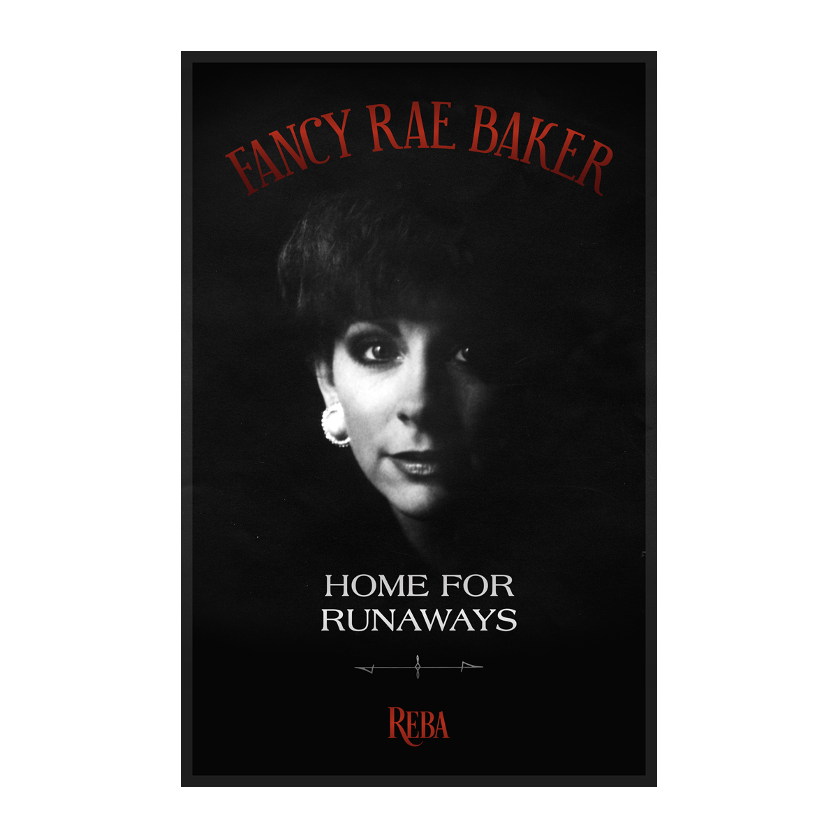 """Home For Runaways 11"""" x 17"""" Lithograph"""