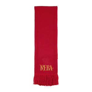 Reba Red Logo Scarf