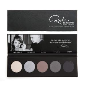 Reba Beauty Center Stage Smokey Eye Shadow Palette & Brush