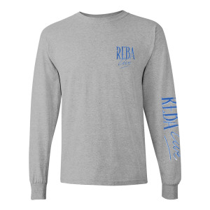 Reba Live 1994 Concert Special Grey Long-Sleeve T-Shirt