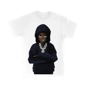 Lil Tjay Cartoon T-Shirt