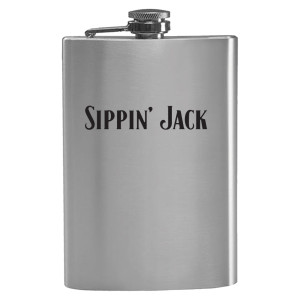 Sippin' Jack Flask