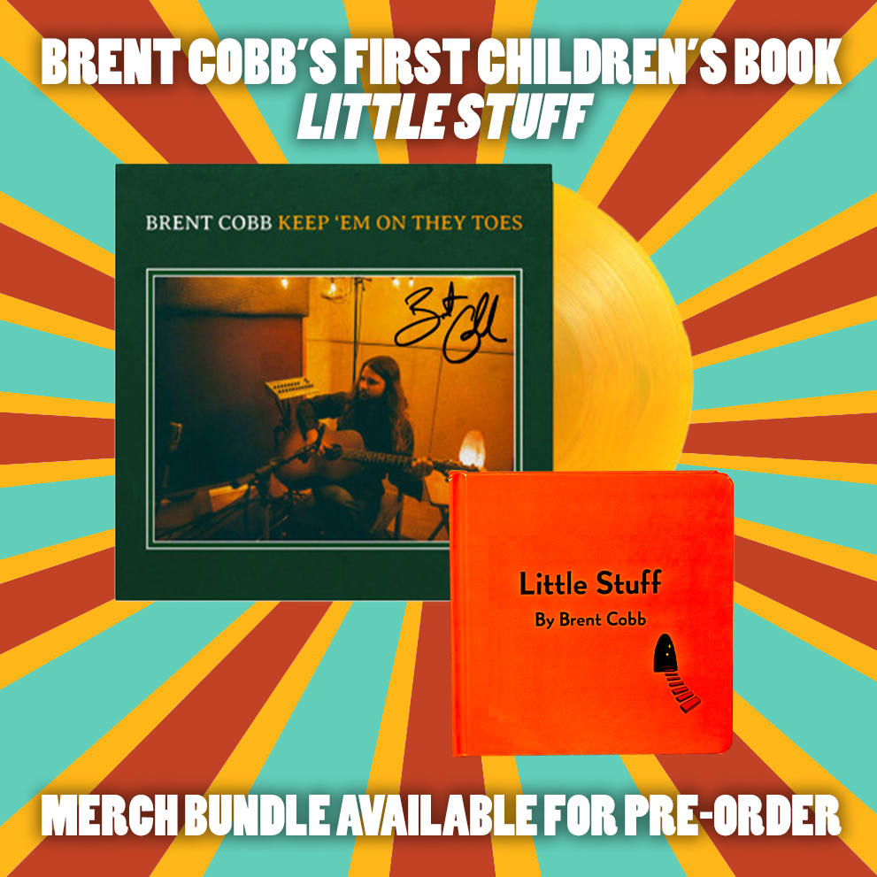 Brent Cobb Little Stuff Book