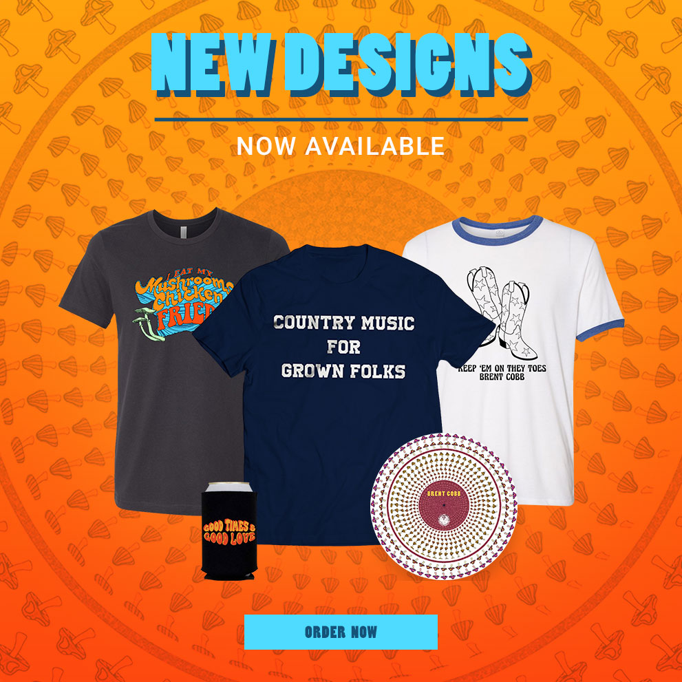 Brent Cobb - Summer 2020 New Designs Now Available