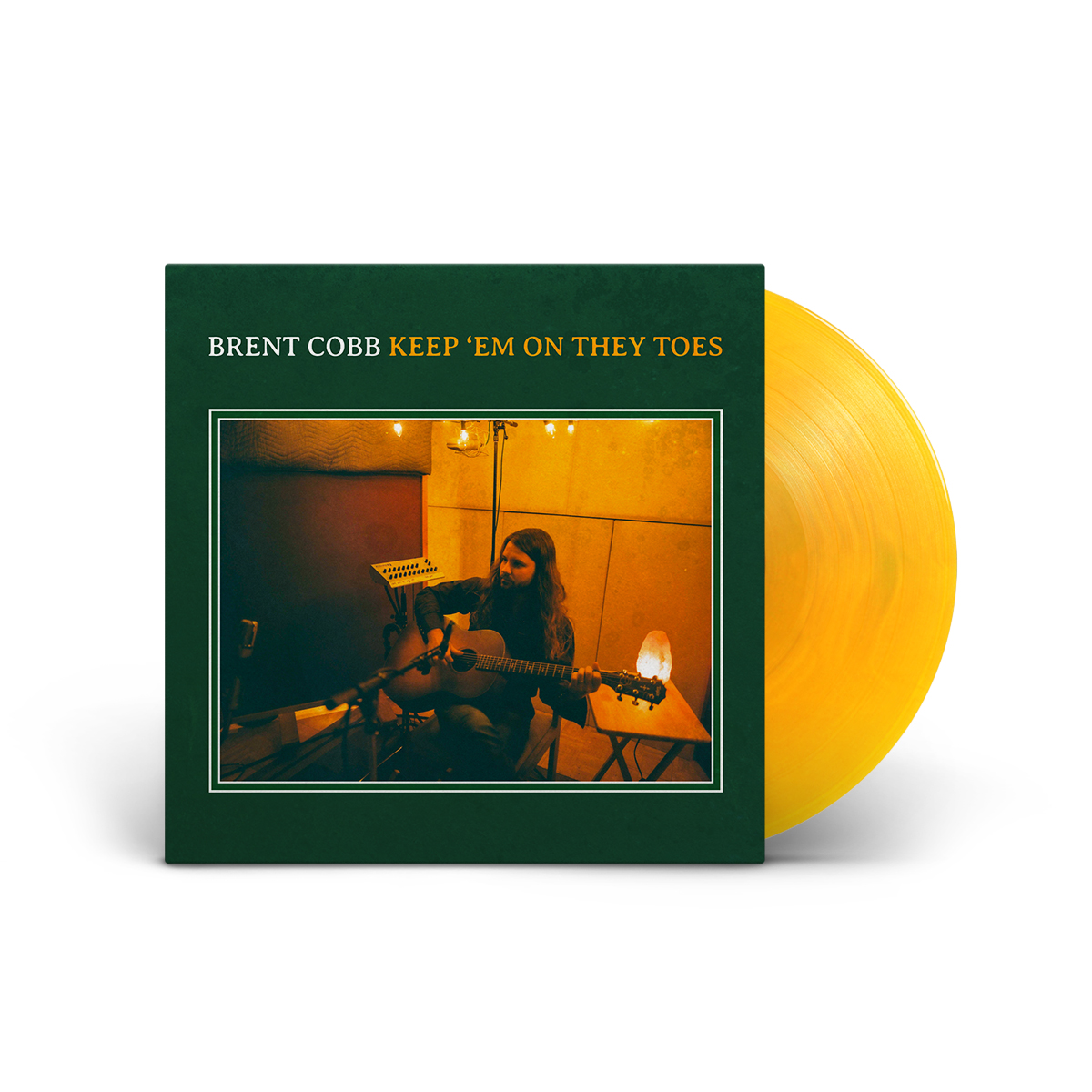 Keep 'Em On They Toes Translucent Yellow Vinyl