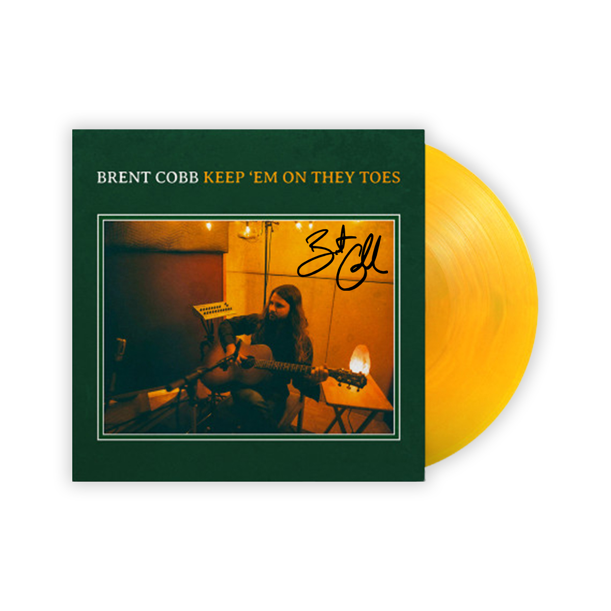Keep 'Em On They Toes Translucent Yellow Vinyl (Signed)