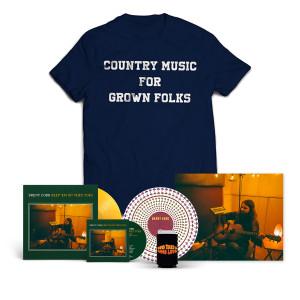Country T-shirt + Vinyl Bundle
