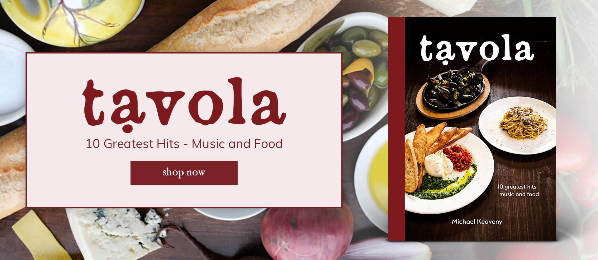 tavola 10 greatest hits - music and food