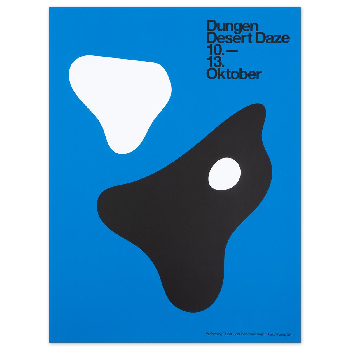 2019 Dungen poster by John Zabawa