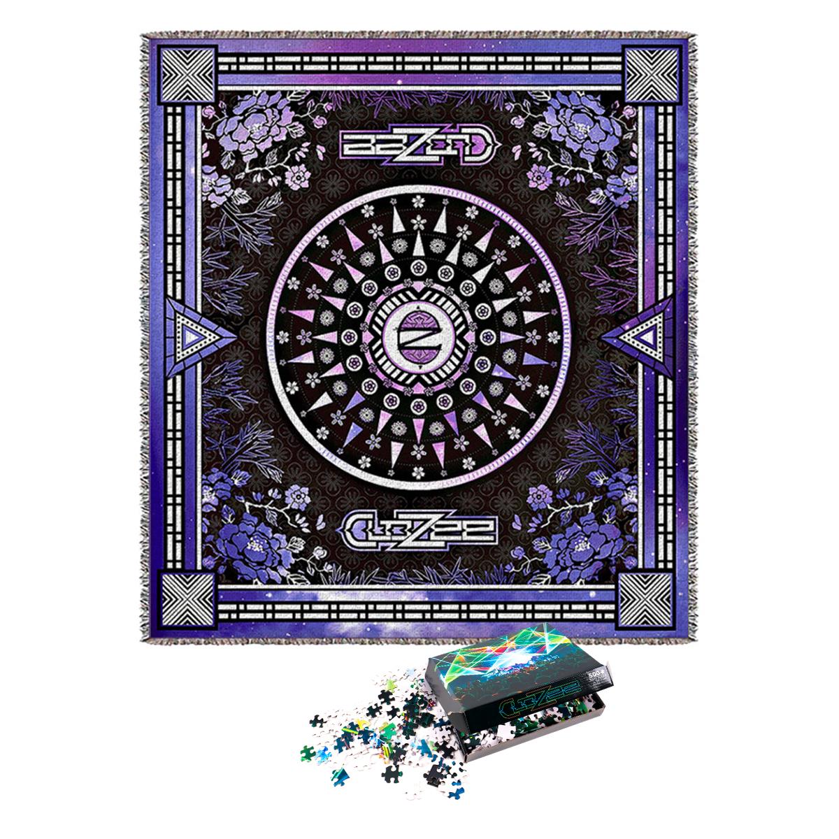 Twilight Mirage Blanket + MF Lasers Puzzle Bundle