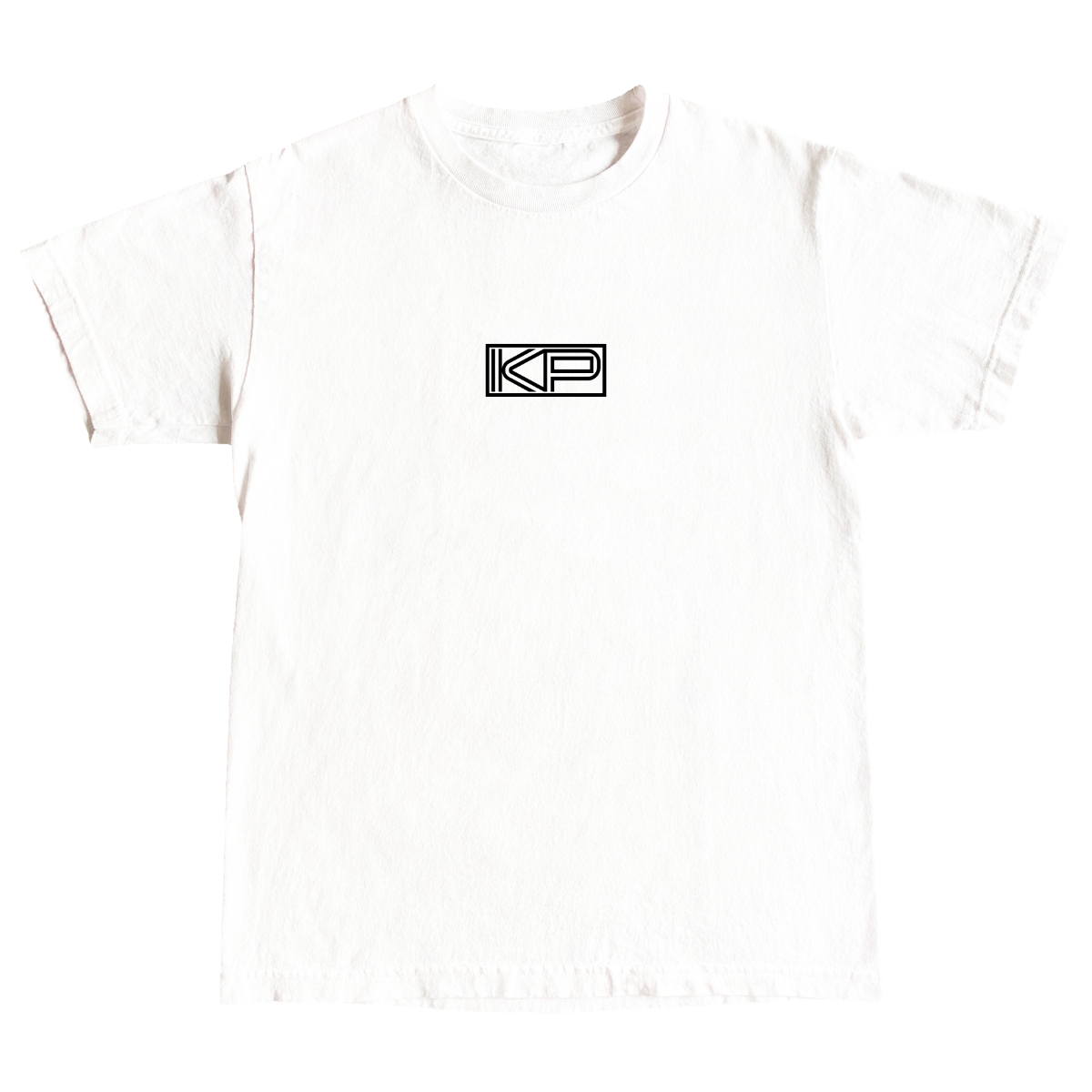 KP White Logo Tee