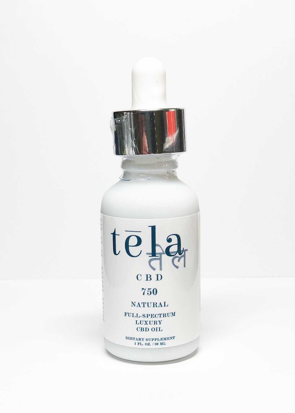 Tela Luxury CBD Oil 750 mg Natural
