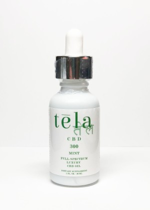 Tela Luxury CBD Oil 300 mg Mint