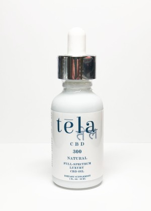 Tela Luxury CBD Oil 300 mg Natural