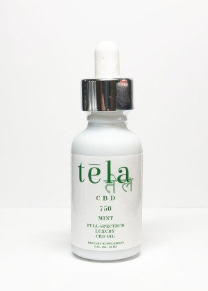 Tela Luxury CBD Oil 750 mg Mint