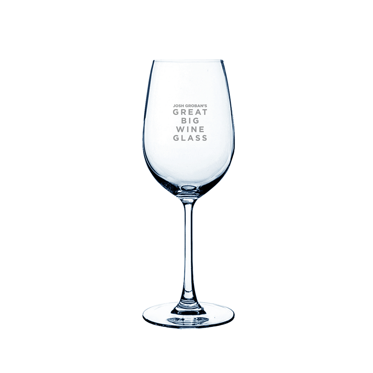 Josh Groban's Great Big Wine Glass