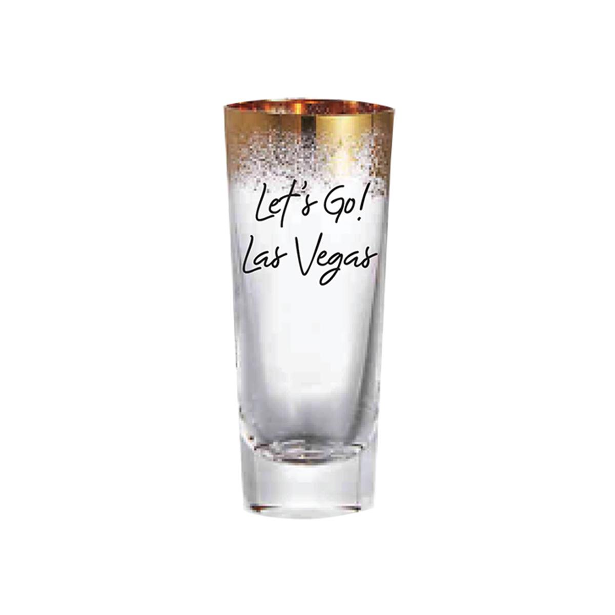 Let's Go Las Vegas Shot Glass