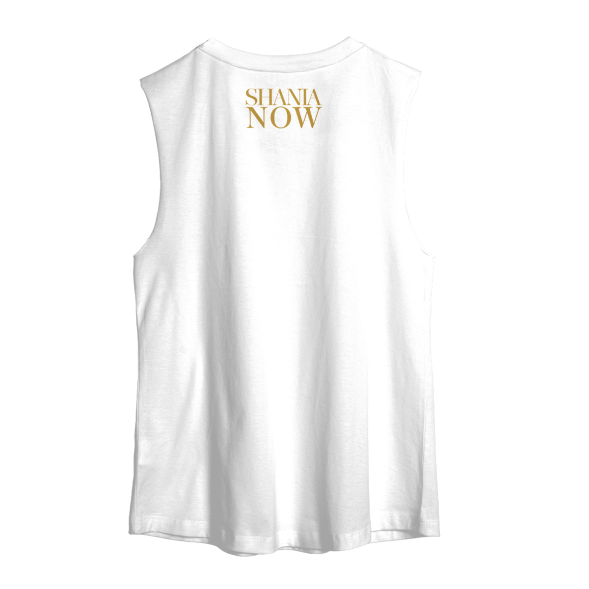 Gold Stencil Muscle Tank