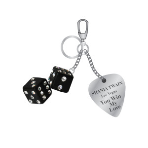 """You Win My Love"" Keychain"