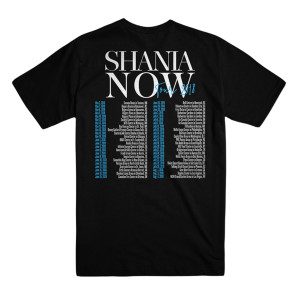 NOW Tour Black Tee
