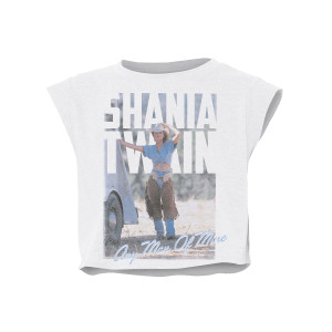 Any Man Of Mine Women's Crop Tee