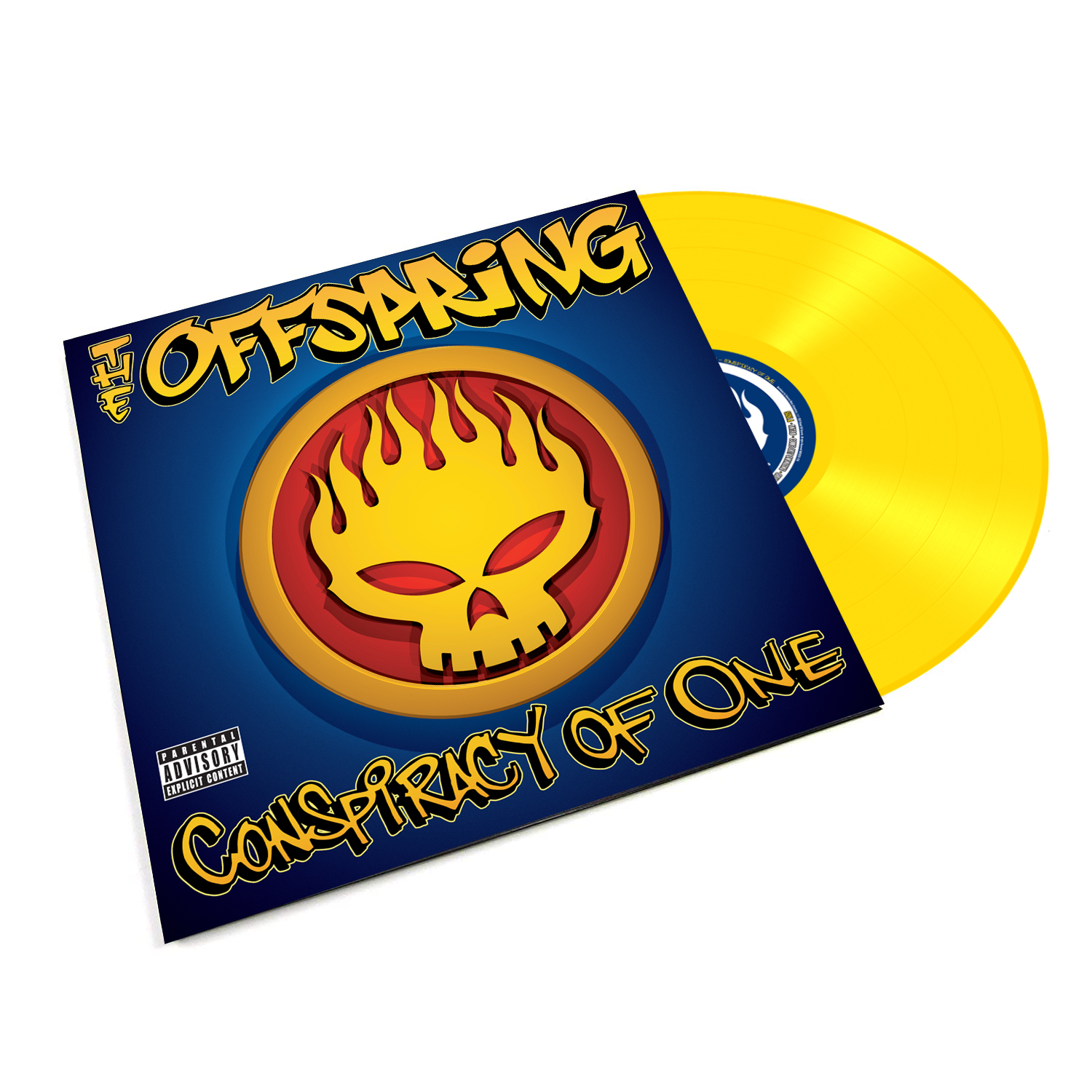 The Offspring - Conspiracy Of One (Reissue) Canary Yellow Vinyl