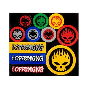Multi-Colored Sticker Page