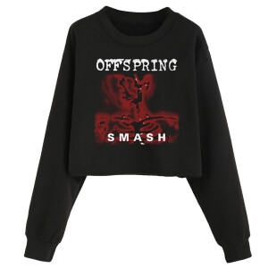 Ladies Smash Crop Pullover