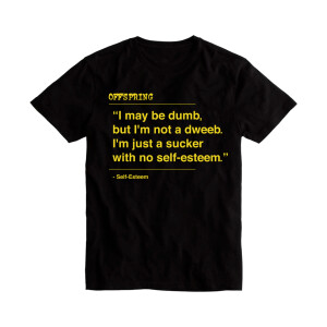 Self Esteem Lyric Tee