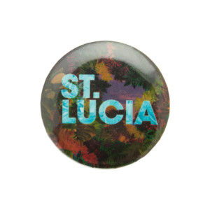St. Lucia St. Lucia Button