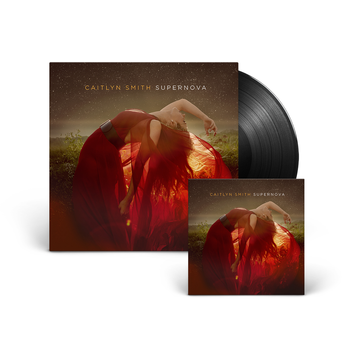 Supernova Vinyl + Digital Album Download