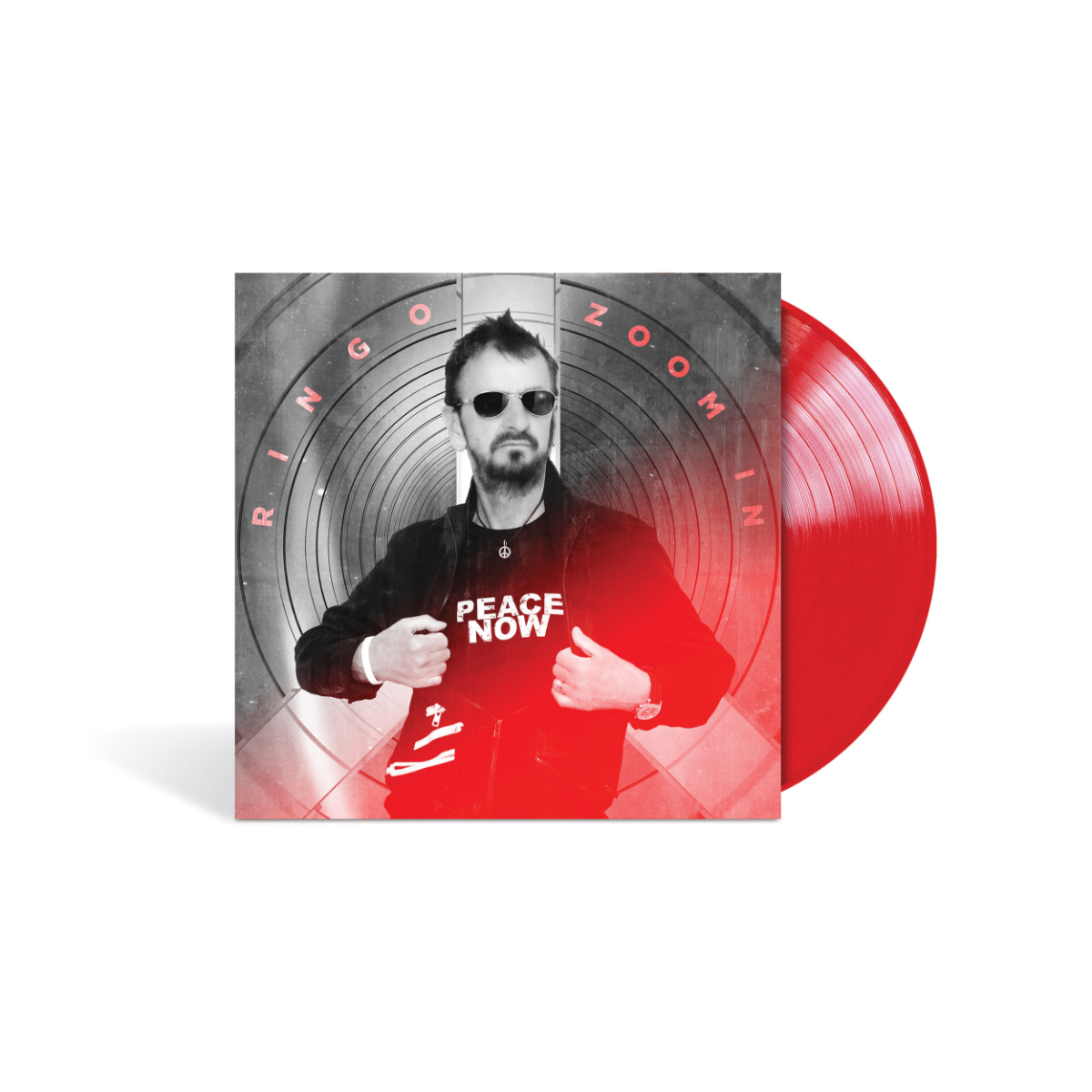 Ringo Starr - Zoom In Red LP