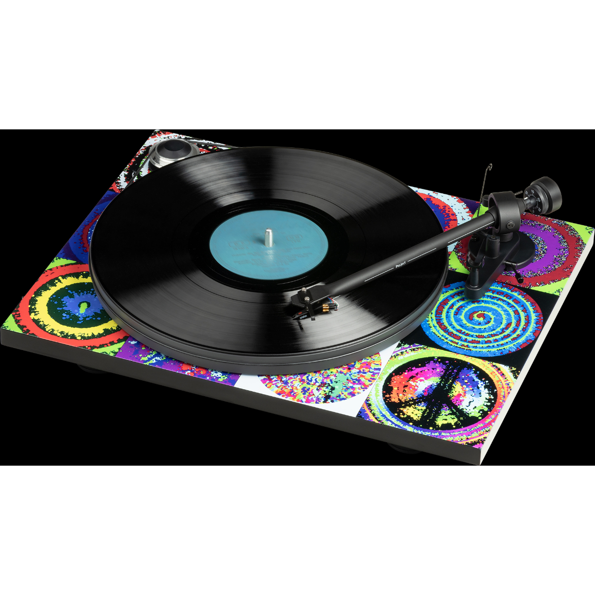 Pro-Ject Essential III – Ringo Starr Peace & Love Turntable