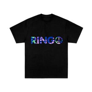 Ringo Tie-Dye Logo Black T-Shirt
