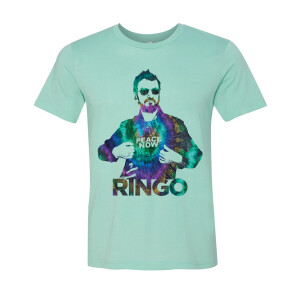 Peace Now with Ringo Mint T-Shirt