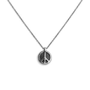 Peace & Love Necklace +Peace Pin