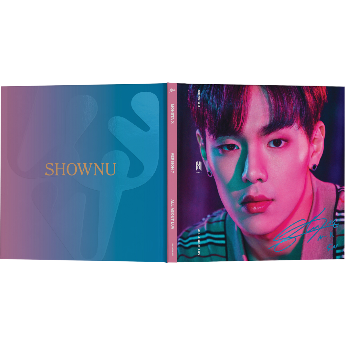 All About Luv - Shownu Album Art
