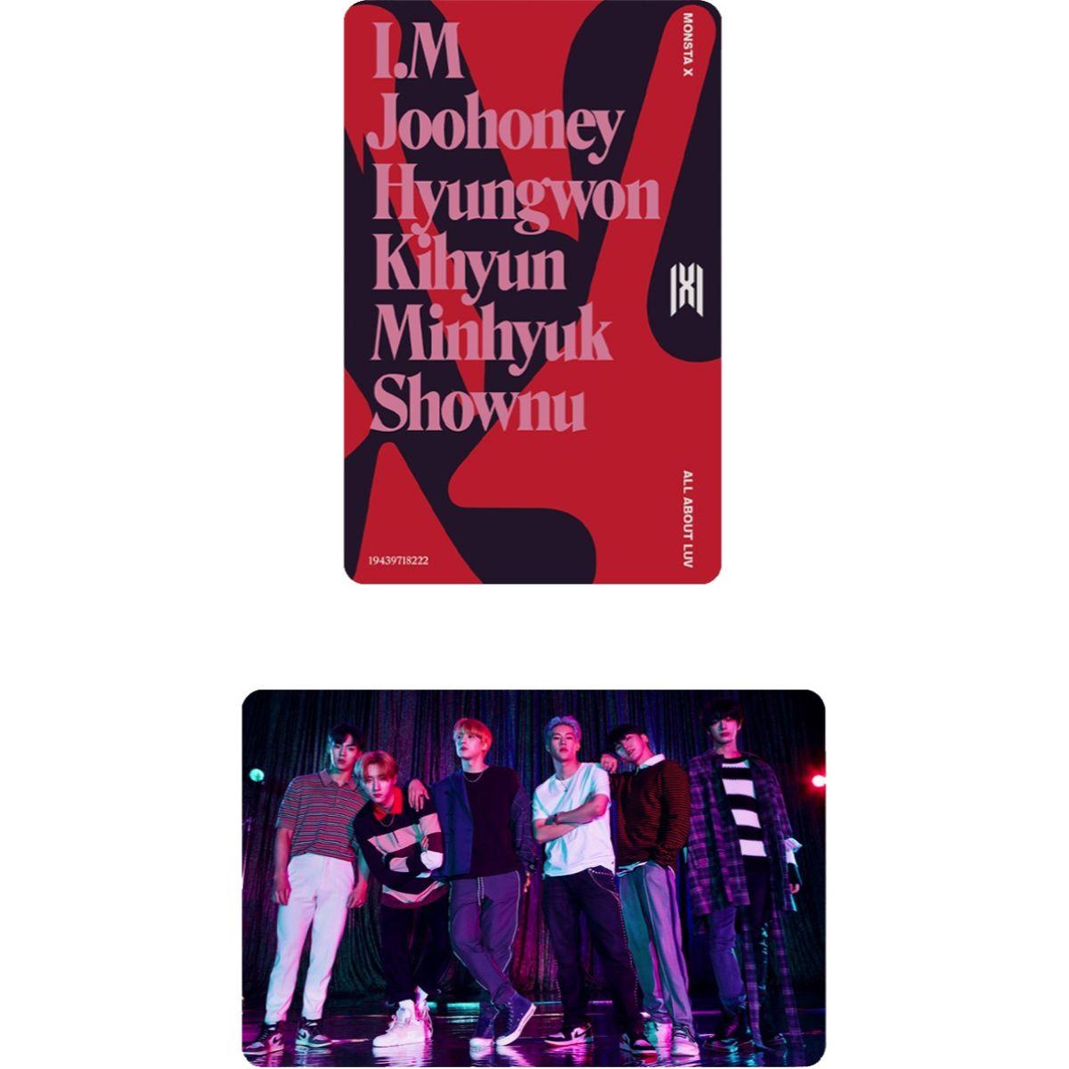 All About Luv - Minhyuk Album Art