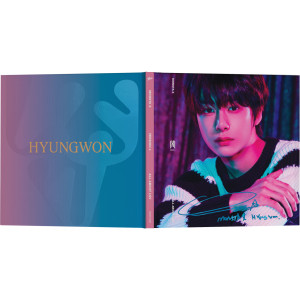 All About Luv - Hyungwon Album Art