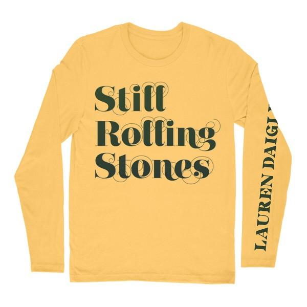 Street One T-Shirt mit Leo-Heart sunshine yellow