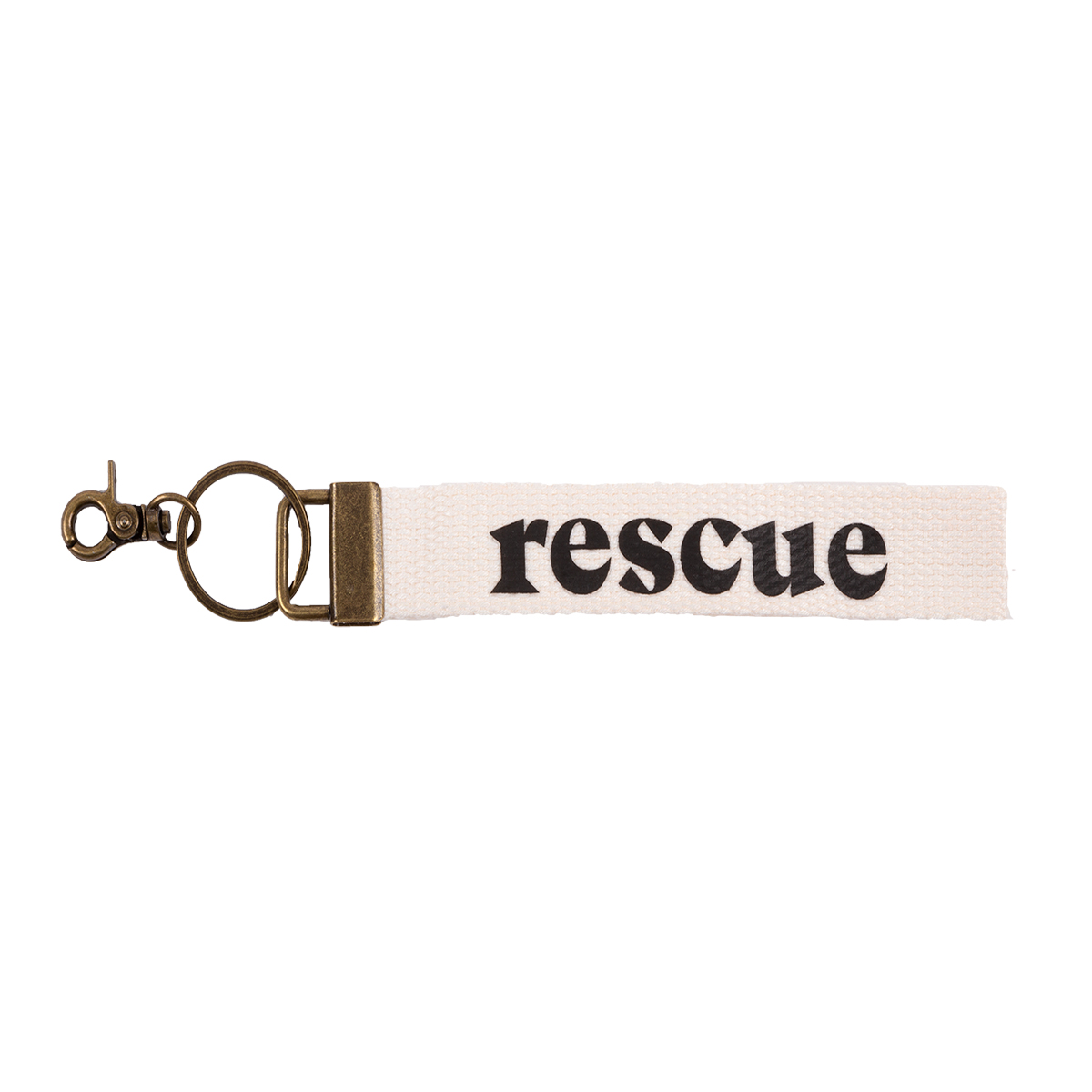 Rescue Woven Keychain