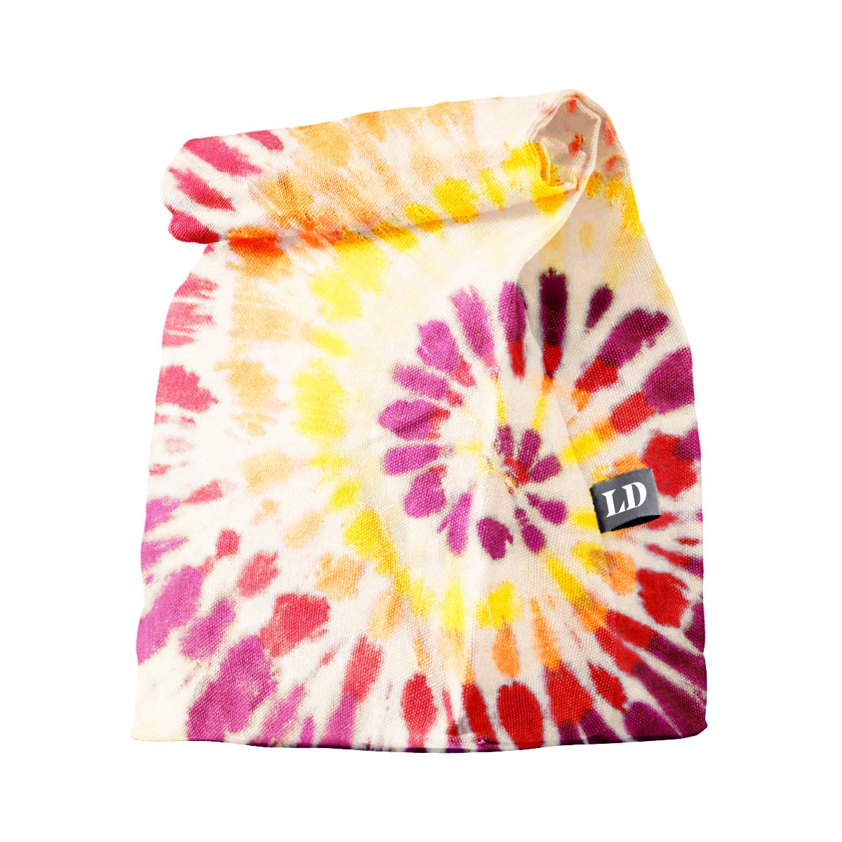 Tie Dye Lunch Sack