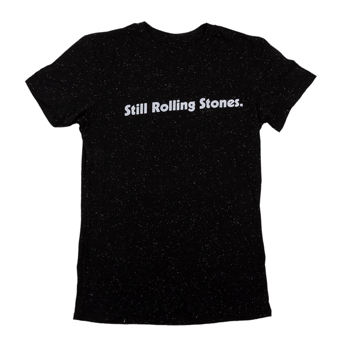 Still Rolling Stones Black T-shirt