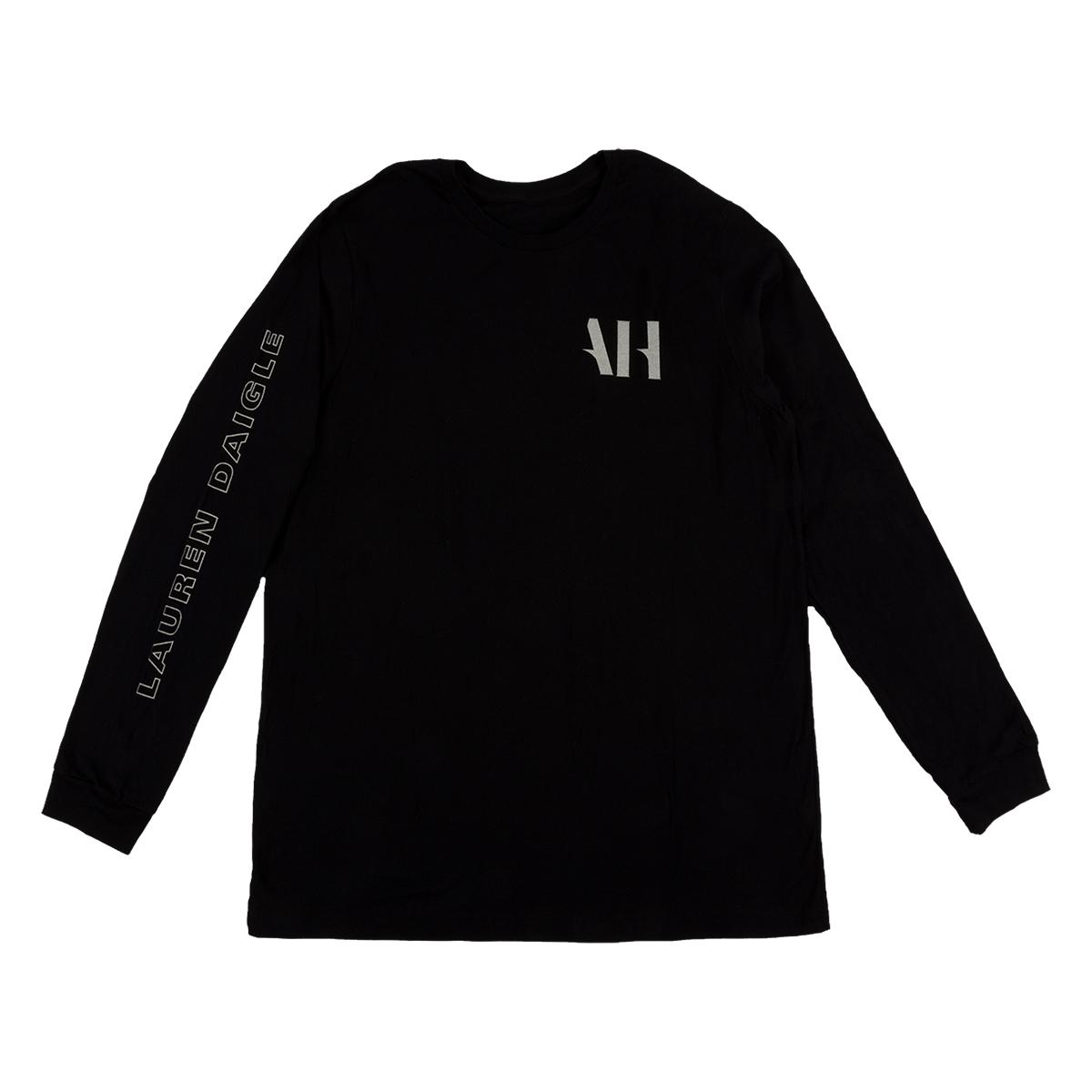 Almost Human Long Sleeve Black T-shirt