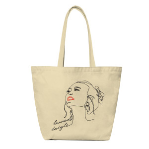 Lauren Daigle Illustrated Tote Bag